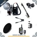 GODOX PB960 Witstro AD360 Potente Flash Portátil Kit de Cable de Extensión energía de la batería flash para canon 600d 700d 6d nikon d3100 d90