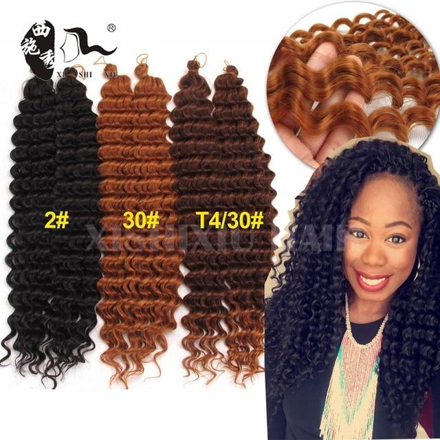Water Wave Freetress Hair18 20inch Syntheitc Pelo Trenzas Ganchillo ...