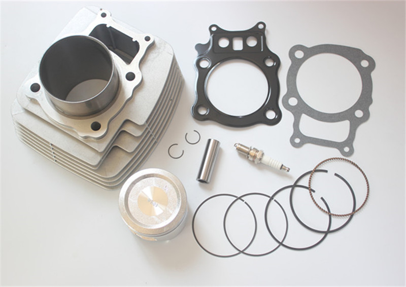 Cylinder Piston Camshaft Gasket Top End Kit Compatible with Honda 2000-2006 Rancher TRX350 Replaces 12100-HN5-670