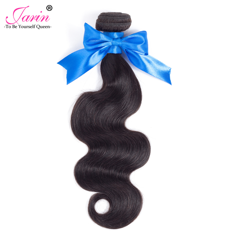Jarin Malaysia Hair Weave 1 Bundles 10-28 inch 100% Human Hair Bundle Deals Natural Black Color Remy Hair Body Wave Bundles #1B