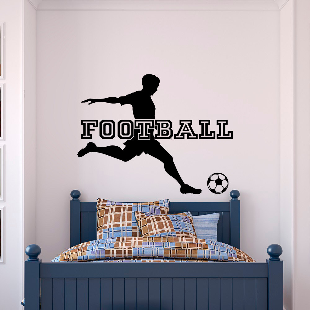 Soccer Wall Decor popular soccer wall decal-buy cheap soccer wall decal lots from