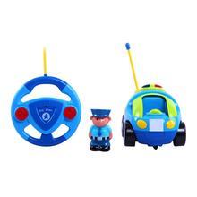 Купить с кэшбэком Saleaman remote control cartoon car race car baby toys Music Automotive Radio Control RC car Toys For Children