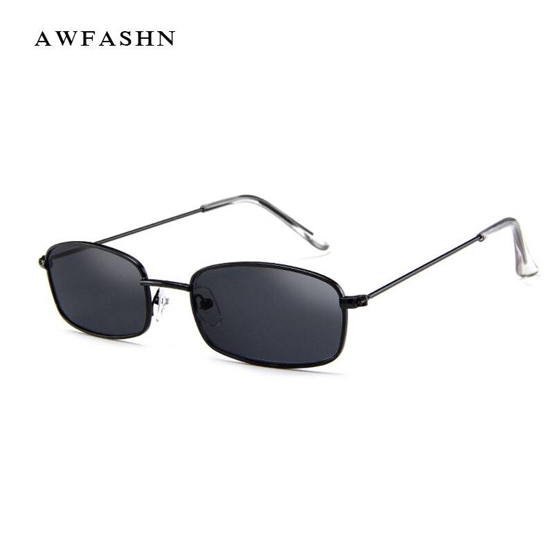 bf77372f2 2019 Tendência Pequeno Retangular óculos de Sol Marca de Luxo Designer  Polarized óculos de Sol Óculos de Motorista Óculos de Metal Do Vintage  Quadrado UV400