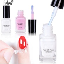 Peel Off Liquid Tape From Nail Polish Protection Finger Skin Cream Whi
