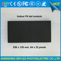 64x32 Outdoor RGB Hd P4 Indoor Led Module Video Wall High Quality P2 5 P3 P4