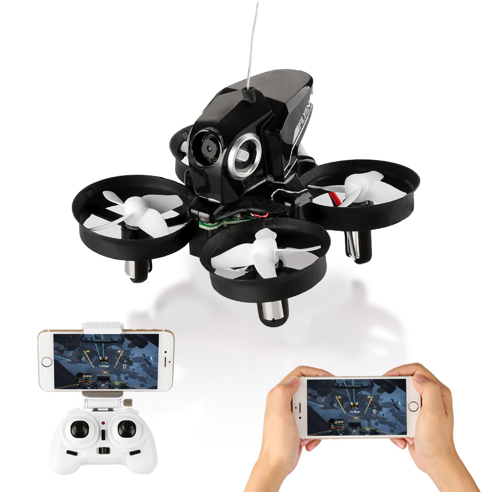 Mini Drone With WiFi FPV Remote Control Quadcopter Headless Mode One Key Return RC Quadcopters VS JJRC H36 H37