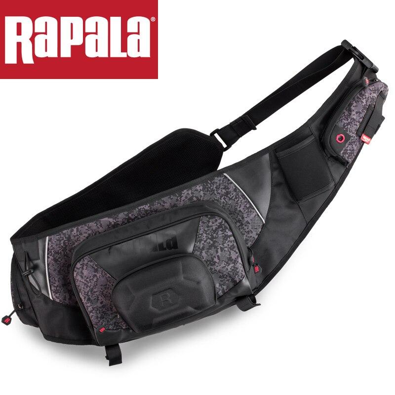 Rapala Brand URBAN Sling Bag RUSB 40 28 14cm Fishing Bag 15L Multifunctional Waterproof Outdoor Waist