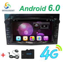 Android 6.0 2 DIN DVD GPS for Vauxhall Opel Astra H G J Vectra Antara Zafira Corsa Multimedia screen car radio stereo audio 4G