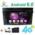 Android 6.0 2 DIN DVD GPS для Vauxhall Opel Astra H G J Vectra Antara Zafira Corsa Мультимедийным экраном автомобильный радиоприемник стерео аудио 4 Г