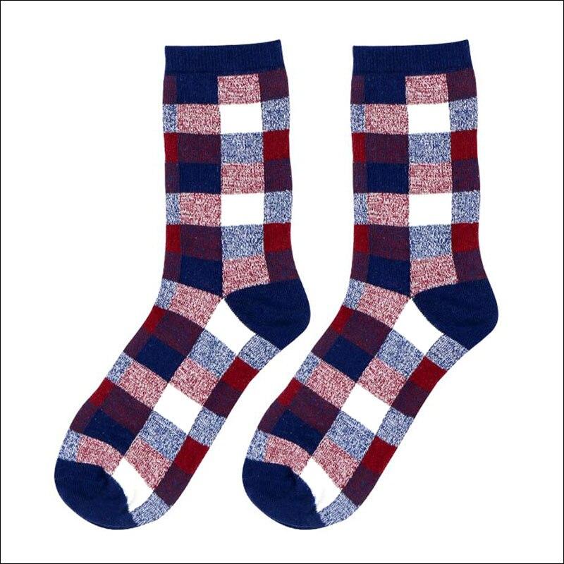 2017 New Casual Cotton Mens Socks England Style Man Sock for Men Colorful Dress Sock Male Business Harajuku Socks Free Shipping