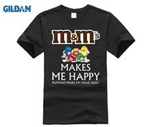 M&Ms Chocolate Makes Me Happy Humans Make My Head Hurt Shirts