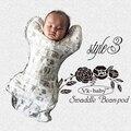 Новорожденных тонкий ребенка пеленать pod мягкий младенческой Одеяло & Пеленание wrap запрет-pod sleepsack пеленать мешок сна