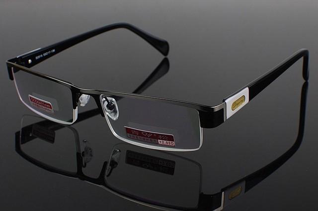 LIMITADA GENUINA aleación de Titanio HOMBRES Gafas de Marco Personalizado Hecho de lentes recetados miopía gafas Fotocromáticas-1 a-6