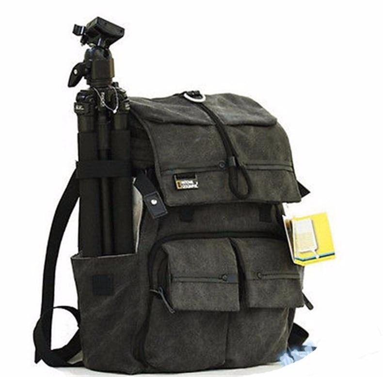 highquality NATIONAL GEOGRAPHIC NG W5070 Professional DSLR camera bag/case Travel photo Backpack bagsmart men s backpack canvas&leather backpackwaterproof camera bag national geographic ng5070 camera backpack black travel bag