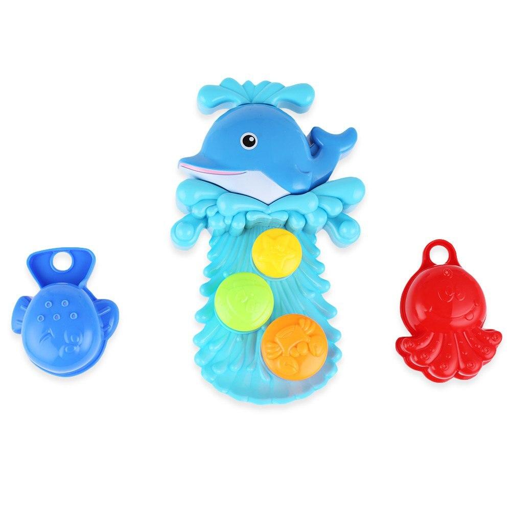 NEW Children Cartoon Dolphin Squirt Water Bath Buttressed Spray ...