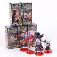 Super Dragon Ball Heroes 7th Anniversary SDBH PVC Figures Toys 5pcs Set SSJ Zeno Goku Avatar