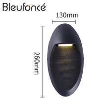 Outdoor Waterproof LED Wall Lamp Porch Garden LED Wall Light Lighting Modern Simple Aluminum Wall Sconce Outdoor Wall Lamps BL58