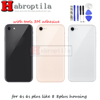For Apple Iphone 6s 6s Plus Like 8 Plus 8 Style Housing Battery Cover Back With