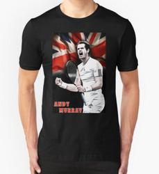 Unique andy murray printed men t shirt short sleeve cool t shirt customized flag design on.jpg 250x250