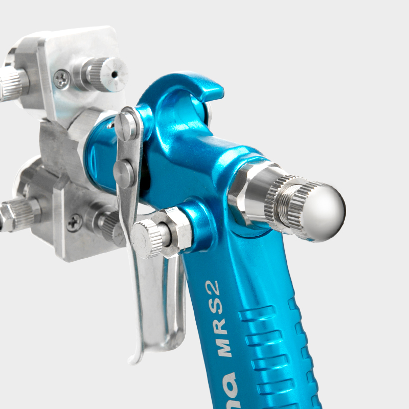 prona dual head manual spray gun MRS2-2R -2