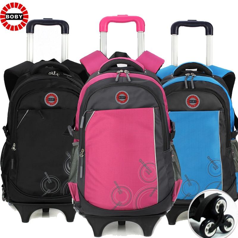 Online Shop Trolley bags 3 Wheels School bags Stairs Leisure ...
