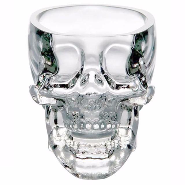 Skull Head Shot Glass Drinking Ware