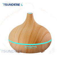 TSUNDERE L Essential Oil Aroma Diffuser Ultrasonic Wood Grain Cool Mist Humidifier For Office Bedroom Baby
