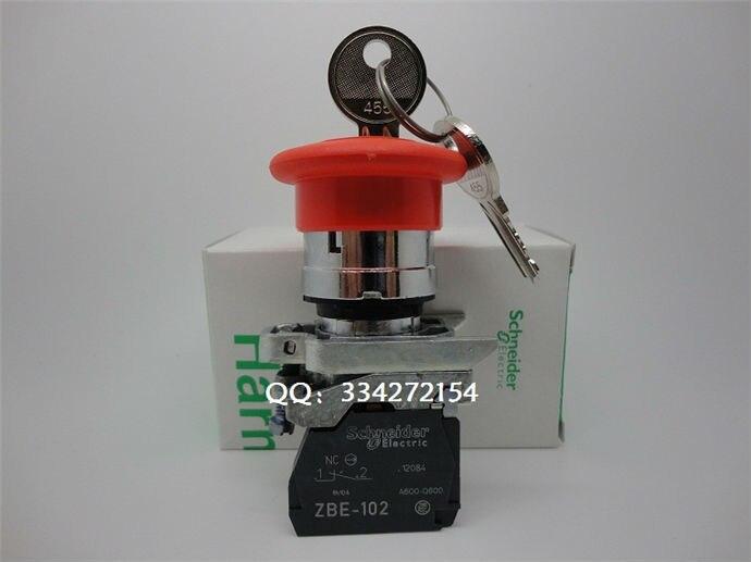 Push button switch XB4 Series XB4BS142 XB4-BS142 push button switch xb4 series xb4br33 xb4 br33