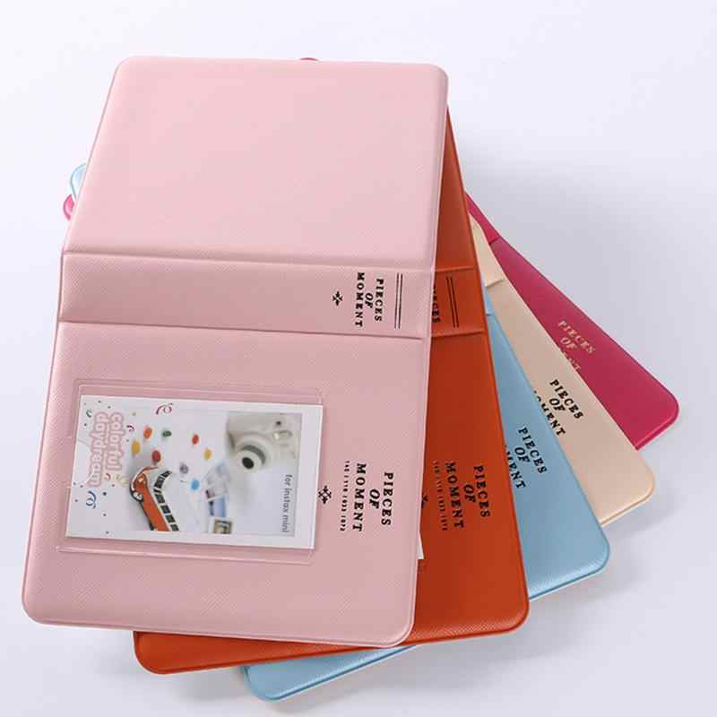 Wholesale 64 Compartments Mini Size Photo Album for Instax Mini 7s 8 25 50s 90 Name Card Credit Card Drop shipping