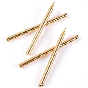 EDC бамбуковая ручка, латунная тактическая ручка для самозащиты, медная металлическая ручка ручной работы, латунная, нейтральная, для улицы, карманные многофункциональные инструменты для кемпинга