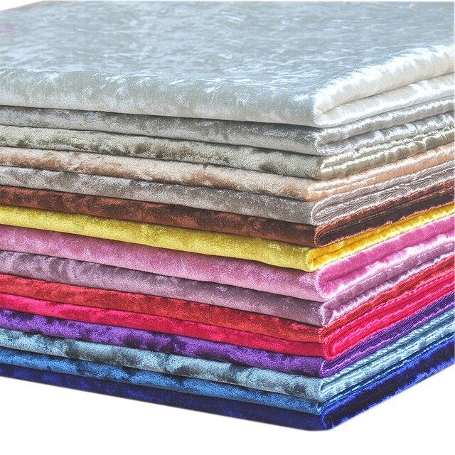Demi Mtre Color pais Velours Tissu DAmeublement Pour Canap
