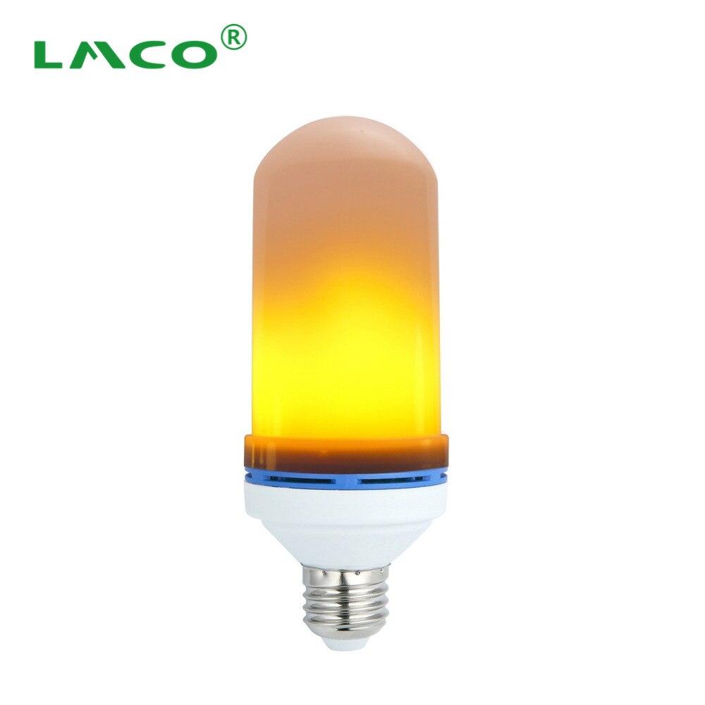 (Lots 20) E26E27 85-265V LED Flame Effect Bulb 105PCS 2835SMD Flaming led Fire Effect Lighting 110V 220V Flickering Emulation