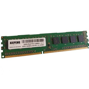 Memoria para PC 8GB DDR3 1600MHz 4GB 2Rx8 PC3-12800U, no ECC RAM...