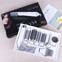7 In1 Multifunction Hair Dryer Styling Tools Set Professional Electric Hair Dryer Blow Hairdryer Styler Brush