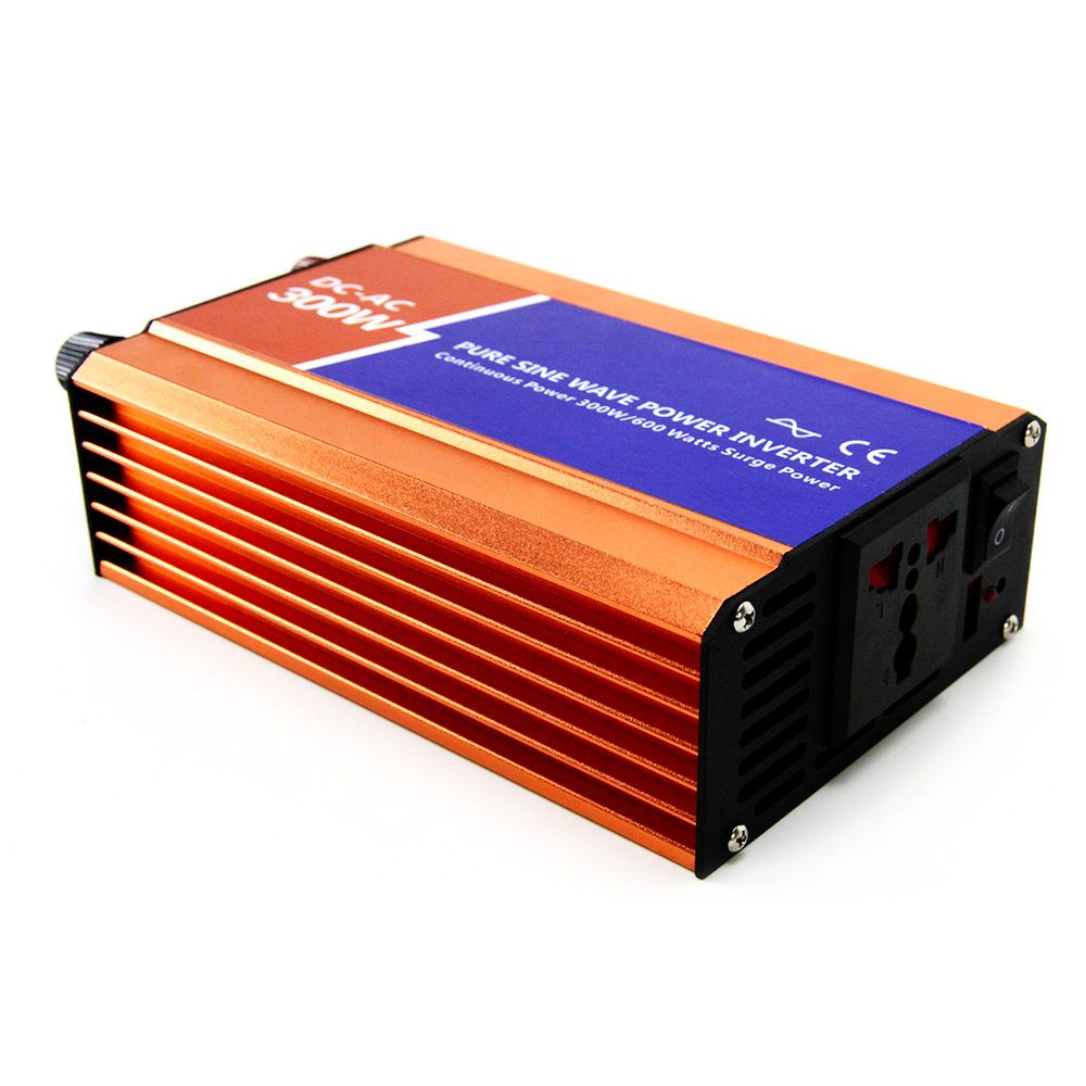 MAYLAR 300W Off-grid Pure Sine Wave Power Inverter AC 24V to DC 110V/220V Support For Wind Turbine or Solar Off Grid System maylar 3 phase input45 90v 1000w wind grid tie pure sine wave inverter for 3 phase 48v 1000wind turbine no need extra controller