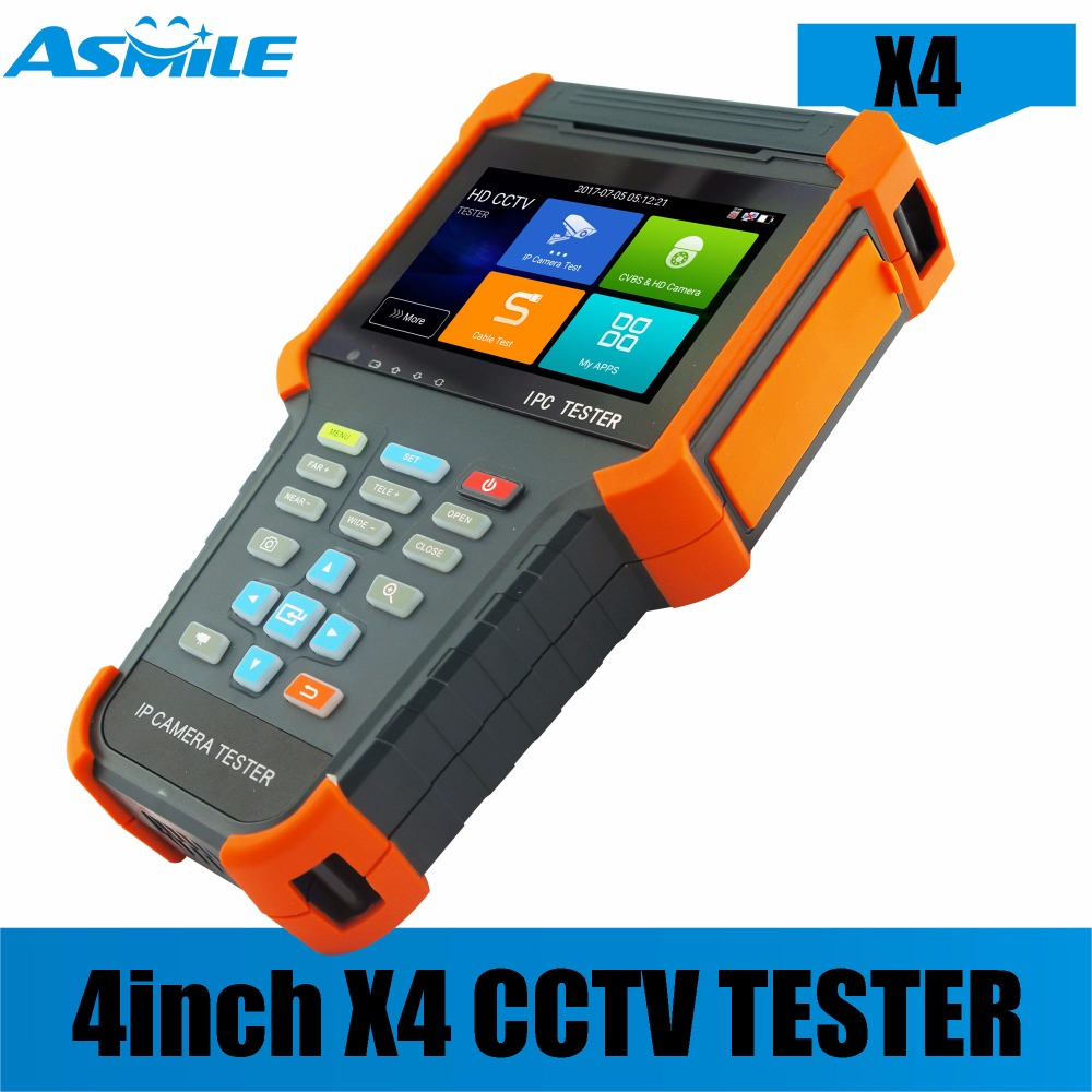 X4 Waterproof Dustproof New Touch Screen All In One Android Wifi Cctv Security Tester From Asmile