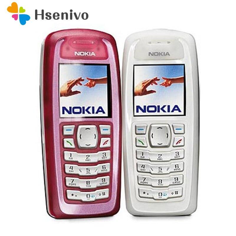 Hot Venda ~ Original Desbloqueado Nokia 3100 Bar GSM 850 mAh Apoio teclado Russo & Árabe Barato e velho Celular frete grátis