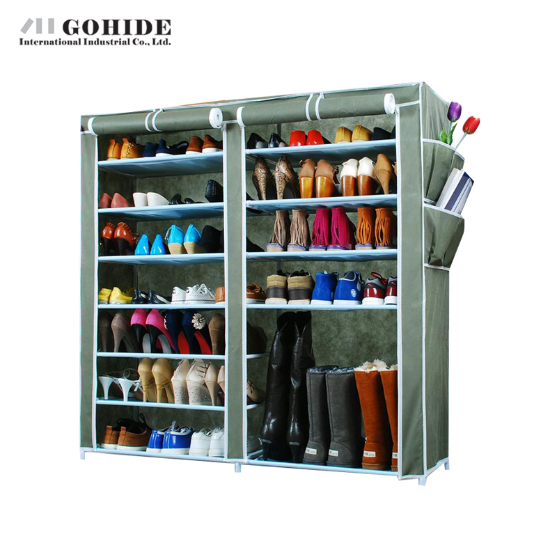Gohide Simple Shoe Combination Cotton-Made Shoes Cabinet Home Furniture DIY Simple Multi-Layer Receive Shoe Racks m middot h middot j 40s the simple shoe 10 combination cotton made shoes cabinet