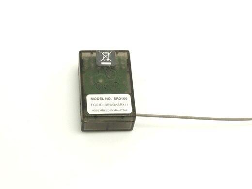 10PCS LOT 2 4GHZ 3CH SR3100 Receiver 3 Channel RX FOR R C CAR SPMSR3100 RX