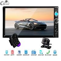 Cncool Car Radio 7 HD Autoradio Multimedia Player 2DIN Touch Screen Auto audio Car Stereo MP5 Bluetooth 2 din USB TF FM Camera