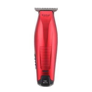 Image 1 - Kemei Professional Hair Clipper Cordless 0mm Baldheaded Hair Beard Trimmer Precision Modelling DIY Hair Cutter Haircut Machine