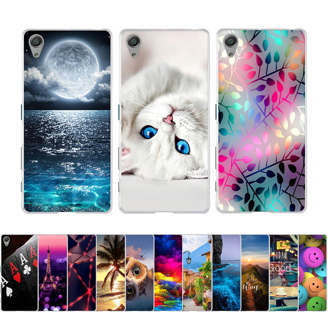 For SONY Xperia X F5121 Dual F5122 5.0 inch Case Soft Silicone TPU Fundas Coque Skin 3D Cover for Sony Xperia X F5121 Dual F5122