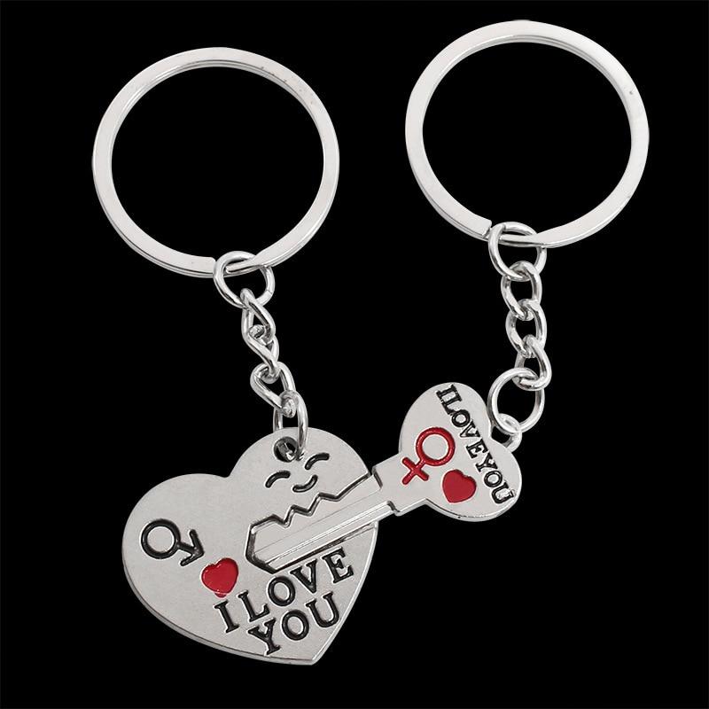 RE Bonito Coração Chaveiro Casal Chave Do Carro Dom cadeia de Acessórios de  Presente do Namorado 627b0d9fff