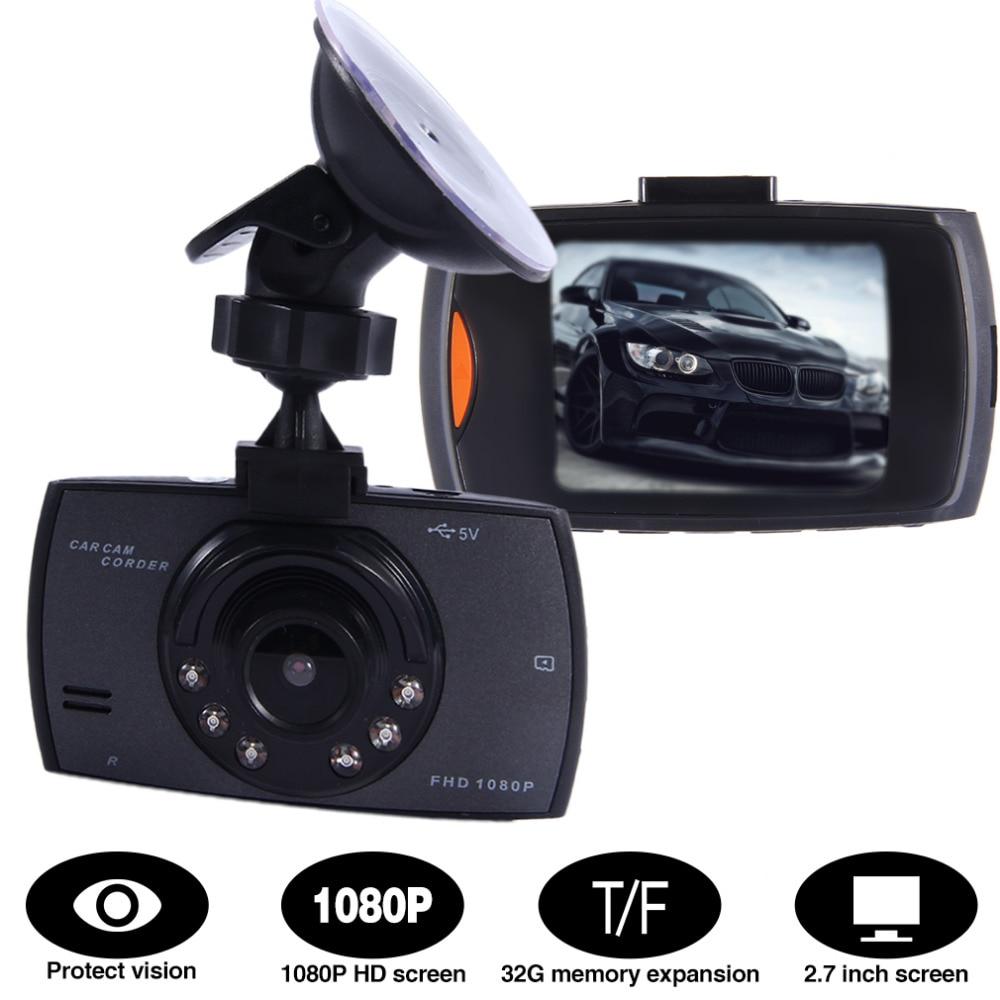 imágenes para Nuevo Llega 2.7 Pulgadas 1080 P LCD Pantalla HD Tablero de Coches Cam DVR Grabador de Vídeo Cámara de Visión Nocturna g-sensor Tacógrafo función