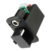 ABS 9V Battery Holder Case Box Compartment Cover For Active Guitar Bass Parts Pickup Replacement