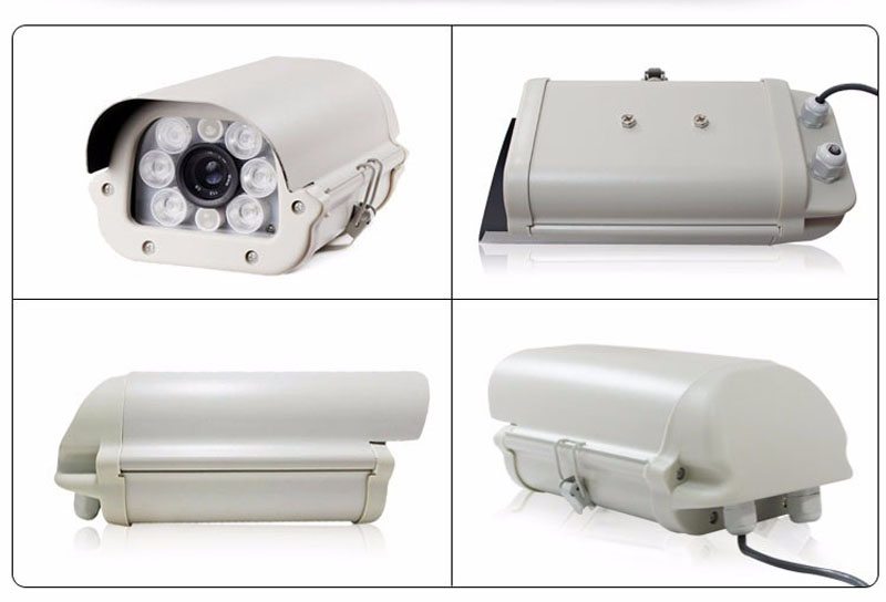 View License Plate Surveillance Sony 800TVL Zoom 5-50mm Lens White Light Day/Night Color Security WDR Varifocal CCTV Camera