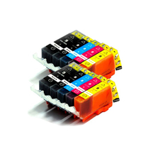 10pcs Ink Cartridge For Canon PGI 5 CLI 8 Cartridge for Canon iP4200 iP4300 iP4500 MP530 MP600 MP610 MP800 MX850 printer aomya full refillable ink cartridge pgi5 pgi 5 cli 8 for canon pixma ip4200 ip4300 ip4500 ip5200 mp500 mp530 mp600 mp610 mp800
