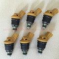 6# high performance 555cc Nismo side feed fuel injector 16600-RR543 yellow for nisaan 300ZX Z32 RB25DET VG30DETT SR20DET KA24