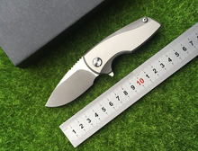 YDC nuclear folding knife pocket outdoor knife D2 + TC4 titanium alloy blades I deal with survival of EDC hunting tools