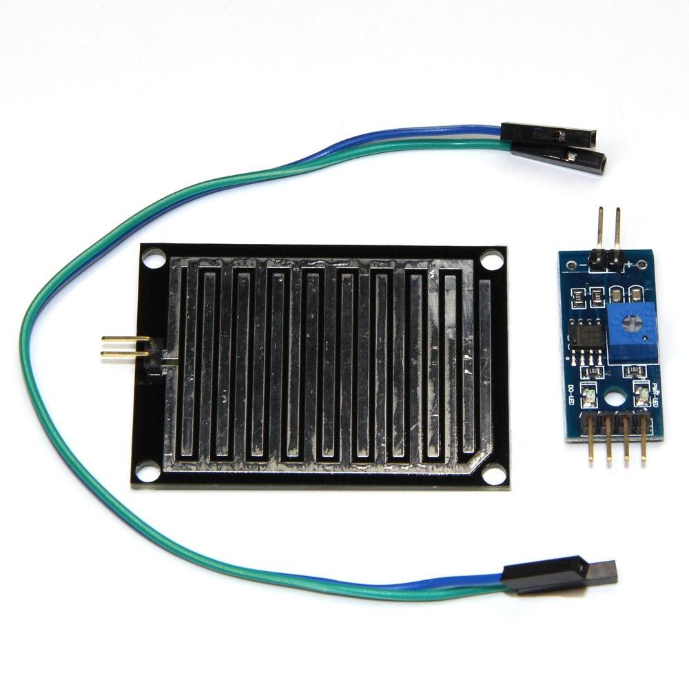 Video Games Trend Mark 1set/lot Snow/raindrops Detection Sensor Module Rain Weather Module Humidity For Arduino Reputation First